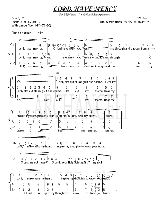 Image Result For Partitur Lagu Pernikahan Kristen